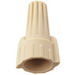 NSI WWC-T-C Easy-Twist™ Winged Wire Connector; 22-8 AWG Copper, Tan