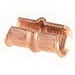 NSI CT-109 C-Tap Connector; Main: 2/0, 1/0 AWG; Branch: 3-4 AWG, 2-3 AWG, Copper, Purple Color Code