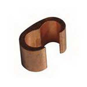 NSI CTH-112 C-Tap Connector; Main: 300 KCMIL - 2/0 AWG, Branch: 2/0-1, 3/0-3, 4/0-4, 3/0-6, 2/0-8 AWG, Copper, Brown Color Code