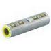 NSI ASC4T Dual Rated Compression Splice; 4 AWG Aluminum/Copper, Aluminum, 2 Conductors, Green Color Code