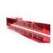 NSI ULTD-627 Detectable Underground Line Tape; 1000 ft x 6 Inch x 5 mil, 35 Gauge Solid Aluminum Foil Core, Red