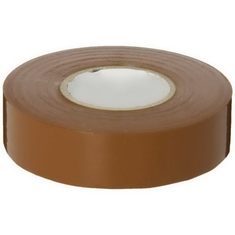 NSI EWG-7060-1 Easy-Wrap™ EWG Model General Purpose Splicing Tape; 600 Volt, 60 ft Length x 3/4 Inch Width x 7 mil Thick, Brown