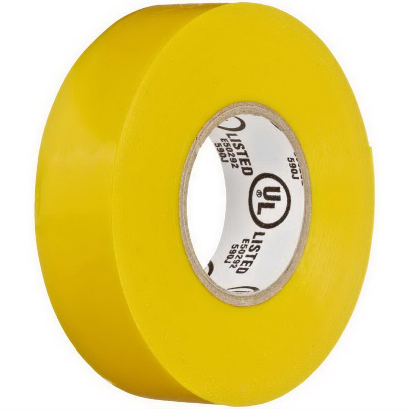 NSI EWG-7060-4 Easy-Wrap™ EWG Model General Purpose Splicing Tape; 600 Volt, 60 ft Length x 3/4 Inch Width x 7 mil Thick, Yellow