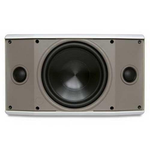 Proficient AW600TTWHT Stereo TT Speaker 6-1/2 Inch Dual Voice Coil Polypropylene Woofer 91 dB Sensitivity  White