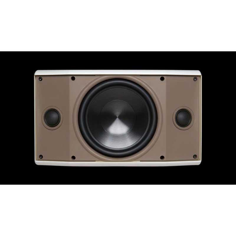 Proficient AW500TTWHT Stereo TT Speaker 5-1/4 Inch Dual Voice Coil Polypropylene Woofer 89 dB Sensitivity  White