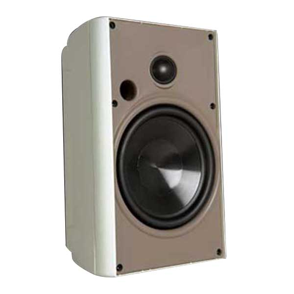 Proficient AW650WHT Stereo Speaker; 6-1/2 Inch Polypropylene Woofer, 2-Way, 89 dB Sensitivity, White