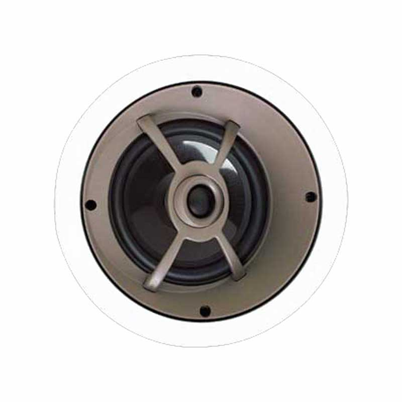 Proficient C655 Angled LCR Speaker; 6-1/2 Inch Graphite Woofer, 91 dB Sensitivity