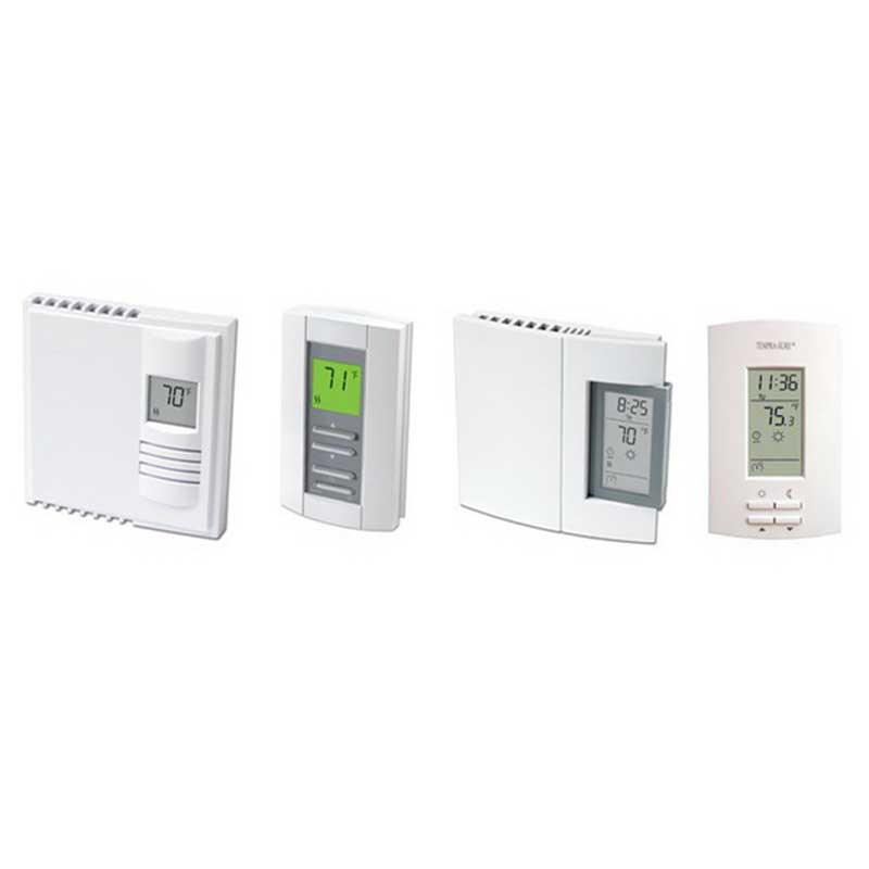 Marley TH36004 Tempra-Sure® Digital Non-Programmable Thermostat; 240 Volt AC, 15 Amp, 2-Pole, 4-Wired Connection