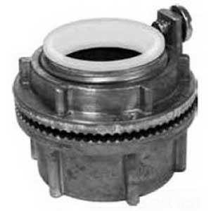 EGS HUBG125DN Insulated Watertight Grounding Hub 1-1/4 Inch  Die-Cast Zinc