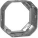 EGS 3OE-1/2 Octagon Box Extension Ring; 3-1/4 Inch Dia x 1-1/2 Inch Depth, Steel, 10.5 Cubic-Inch