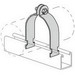 Power-Strut PS-1000-1/2-EG Allied Tube & Conduit EMT Conduit Clamp; 1/2 Inch, Electro-Galvanized, 400 lb Load