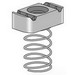 Power-Strut PS-RS-5/8-EG Clamping Nut with Long Spring; 5/8-11, Electrogalvanized