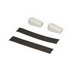 Raychem H912 Gel-Filled End Seal Kit; Includes (2) End Seals, 6 Inch Long Black Cloth Tapes