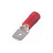 Catamount TV18-250MD-XV 250 Series Vinyl Insulated Male Disconnect; 300 Volt, 22-16 AWG, Red