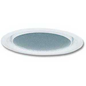 Lithonia Lighting / Acuity CLF1-PF-R6 Round 6 Inch Full Reflector Trim; Insulated Ceiling, Aluminum Reflector, Flush Opal Polycarbonate Lens