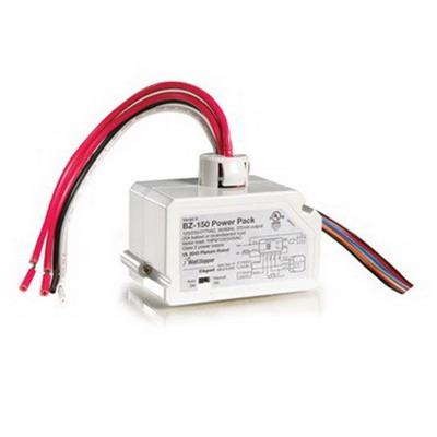 Watt Stopper BZ-150 Universal Voltage Power Pack; 120/277 Volt Input, 24 Volt DC Secondary, 225 Milli-Amp Output, Gray