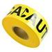 Brady 91450 Barricade Tape; Polyethylene, Black On Yellow