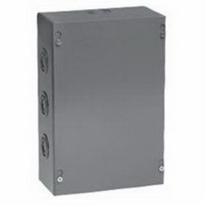 Unity 10106SCNK Screw Cover Box 10 Inch Width x 6 Inch Depth x 10 Inch Height  16 Gauge Low Carbon Steel