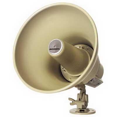 Bogen Communications SPT30A Paging Horn Speaker; 25/70 Volt, 125 DB At 4 ft