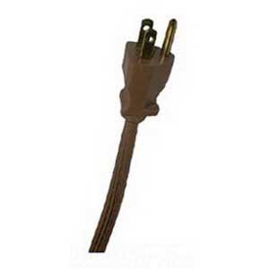 EPCO 10953 Flat Cord; 6 ft, Beige