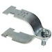 L.H. Dottie SC600R Rigid Strut Clamp; 6 Inch, Steel, Electro-Galvanized, 1000 lb Load