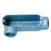 L.H. Dottie LR150 Type LR Conduit Body; 1-1/2 Inch Hub, Die-Cast Copper Free Aluminum