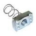 L.H. Dottie SSN38 PC 5392 Standard Spring Nut; 3/8 Inch, Steel, Electrogalvanized Zinc
