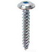 L.H. Dottie KWDD101 PC 4200 Piercing Square Wafer Head K-Lath Screw; #10, 1 Inch Length, Steel, Zinc-Plated
