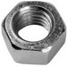 L.H. Dottie HN38 PC 4100 Finished Hex Nut; 3/8-16, Steel, Zinc-Plated