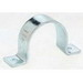 Cooper B-Line B2400-2-ZN B4000 Series Standard 2-Hole Pipe Strap; 2 Inch, Low Carbon Steel, Electro-Plated Zinc