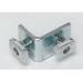 Cooper B-Line B101-ZN 2-Hole 90 Degree Corner Angle; Steel, Zinc Electroplated