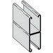 Cooper B-Line B22AGALV20 Back To Back Spot Welded Channel; 12 Gauge, 20 ft x 1-5/8 Inch x 1-5/8 Inch, Steel, Pre-Galvanized