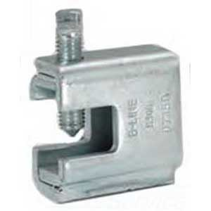 Cooper B-Line B305-ZN Beam Clamp; 1/2-13 Rod, 1/16 - 7/8 Inch Flange, Low Carbon Steel, Zinc Electroplated