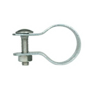 Cooper B-Line B2009PASS43/4RGD Pre-Assembled 2-Hole Clamp; 3/4 Inch, 2-Piece, 14 Gauge 304 Stainless Steel, Channel Mount