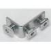 Cooper B-Line B102-ZN 3-Hole 90 Degree Corner Angle; Steel, Zinc Electroplated