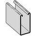 Cooper B-Line B22GALV10 Metal Framing Single Solid Channel; 12 Gauge, 10 ft x 1-5/8 Inch x 1-5/8 Inch, Steel, Pre-Galvanized
