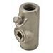 Appleton EYS21 Unilets® Type EYS Sealing Fitting; 3/4 Inch, Female, Grayloy™ Iron, Gray
