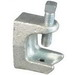 Appleton BH-502 Beam Clamp; 2 Inch, Malleable Iron, Hot-Dipped Galvanized