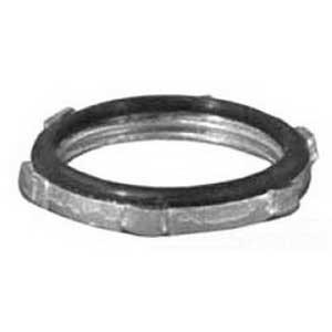 Appleton BLSG-75 Liquidtight Sealing Locknut With PVC Gasket; 3/4 Inch, Threaded, Steel
