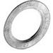 Bridgeport 1073 Reducing Washer; 2 Inch x 1 Inch, Steel, Galvanized