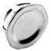 Bridgeport 1695 Blank Knockout Plug; 1-1/2 Inch, Steel, Snap-In
