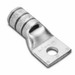 Hubbell Electrical / Burndy YAV4CL2BOX Straight Compression Lug; 3/8 Inch Stud, 1 Hole With Inspection Window Hole, Copper