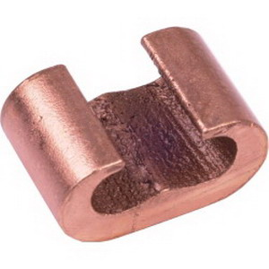 Hubbell Electrical / Burndy YGHC29C26 HYTAP™ Compression Ground Tap Connector; Main: 3/0 AWG Stranded - 250 KCMIL, Tap: 6 AWG Solid - 2/0 AWG Stranded, Copper