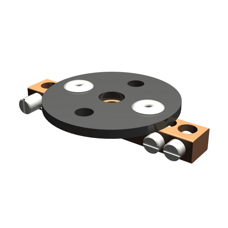 Hubbell Electrical / Burndy BDT1 Bondit® Intersystem Bonding Connector; 8-2 AWG Servit Post, 14-6 AWG Bus Bar