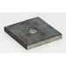 Cooper B-Line B3248-1/2-ZN Square 1-Hole Washer Plate; 1/2-13 Rod Size, Steel, Zinc Electroplated