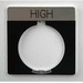 Eaton / Cutler Hammer 10250TS16 Square Legend Plate; High Legend, Black