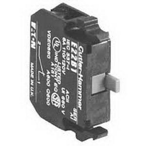 Eaton / Cutler Hammer E22B1 Contact Block; 1 - 600 Volt AC, Glass Filled Nylon
