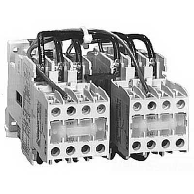 Eaton / Cutler Hammer CE55DN3AB IEC Electric Magnetic Motor Contactor; 3 Pole, 18 Amp, Steel Plate Mount