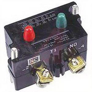 Eaton / Cutler Hammer 10250T3 Contact Block; 1 - 600 Volt AC/DC, Thermoplastic