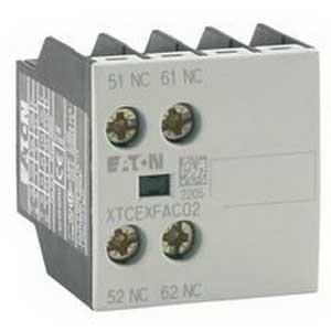 Eaton / Cutler Hammer XTCEXFAG11 Auxiliary Contact; 1 - 600 Volt AC, 16 Amp, 2 Pole